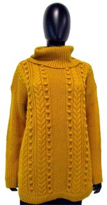 Talbots Long Sleeve Chunky Cable Knit Sweater