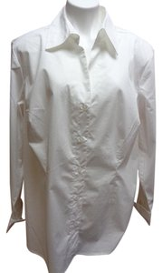 Sonoma Button Down Longsleeve Button Down Shirt White