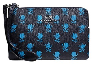 Coach Coach Zip Wristlet In Badlands Floral Print - F65761