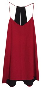 Express Top Red and Black