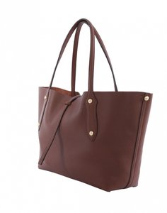 Annabel Ingall Tote in Brown, chocolate