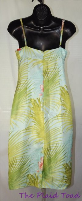 Tommy Bahama short dress Multi-color Silk Summer Tropical Print on Tradesy