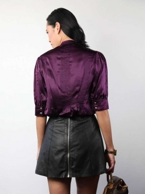 Lauren Moffatt Top Purple
