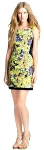 McGinn Floral Shift Sheath Dress