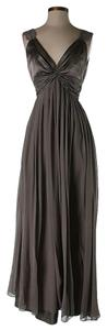 BCBGMAXAZRIA Silk Twist Dress