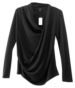 Ann Taylor Draped Drape Cowl Petite Wrap Sweater