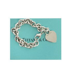 Tiffany & Co. Tiffany and Co. Heart Tag Bracelet