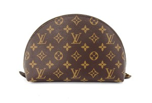 Louis Vuitton Ronde 26 Monogram Pochette Toilette Cosmetics Travel Dopp Bag