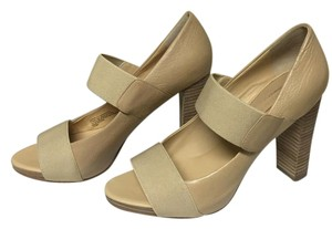 Banana Republic Open-toed Heels Nude Pumps