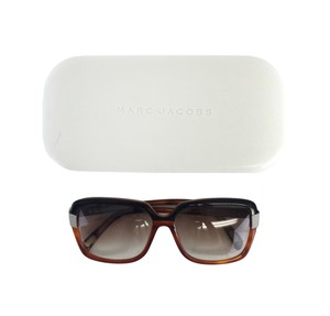 Marc Jacobs Brown & Black Block Frame Sunglasses