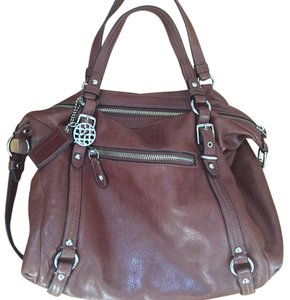 Coach Satchel in Whiskey Brown