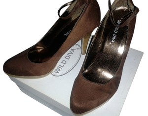 Wild Pair Brown Pumps