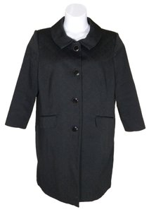 Apostrophe Textured Like New Pea Coat