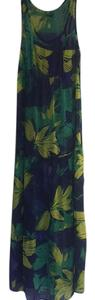 Royal blue, green, yellow Maxi Dress by Mossimo Supply Co.