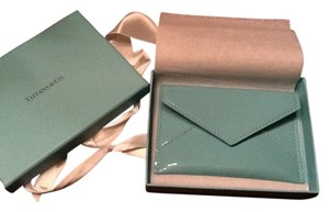 Tiffany & Co. TIFFANY & CO. PATENT LEATHER ENVELOPE -New In Box.