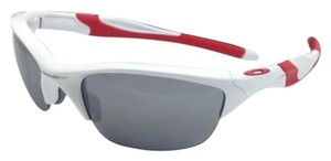 Oakley OAKLEY Sunglasses HALF JACKET 2.0 OO9144-17 White & Red w/Mirror