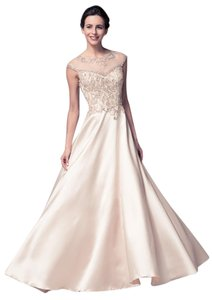 Bicici & Coty Crystal Sequin Ball Gown Dress