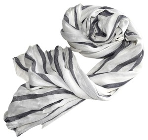 J.Crew Lightweight Striped Scarf