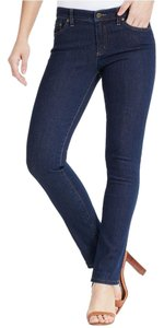 Lauren Ralph Lauren Plus Size Stretchy Straight Leg Jeans-Dark Rinse
