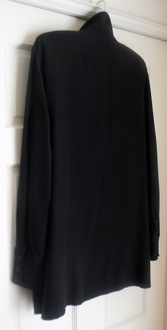 Mondi Maternity Designer Button Front Side Slit Boyfriend Tunic
