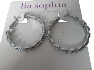 Lia Sophia NWT, Lia Sophia Fairytale Hoop earrings
