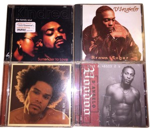 Other Soul 4- CD Set; D'Angelo, Maxwell, Kindred the Family Soul [ SisterSoul Closet ]