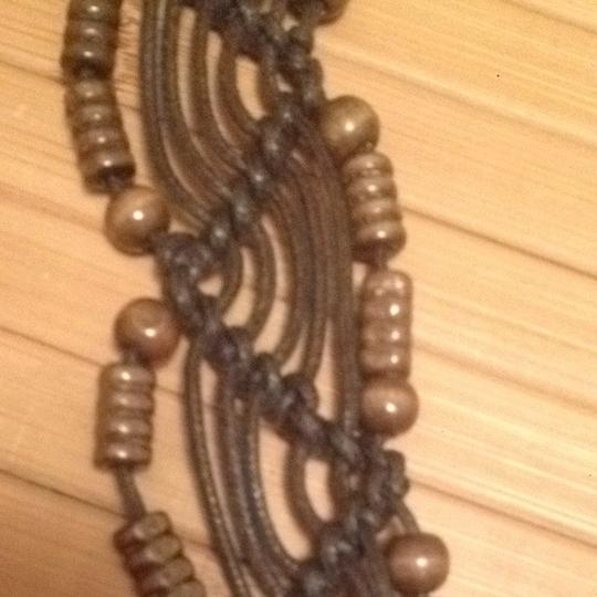 Other FLASH SALE NWT Boho Woven Belt Wood Beads