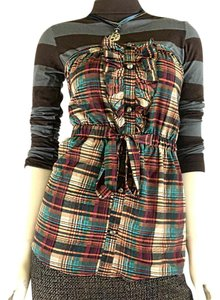 Forever 21 Top Plaid