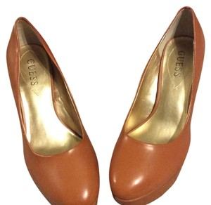 Guess By Marciano Tan light brown Platforms
