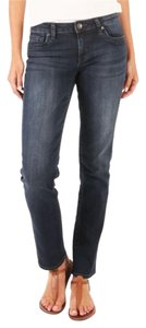 KUT from the Kloth Stevie New With Tags Size 16 Straight Leg Jeans-Distressed