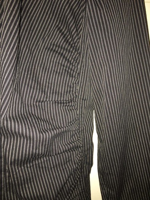 Express Top Striped Black Image 1
