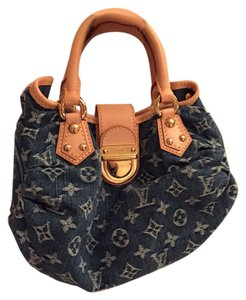 Louis Vuitton Satchel in PLEATY Denim