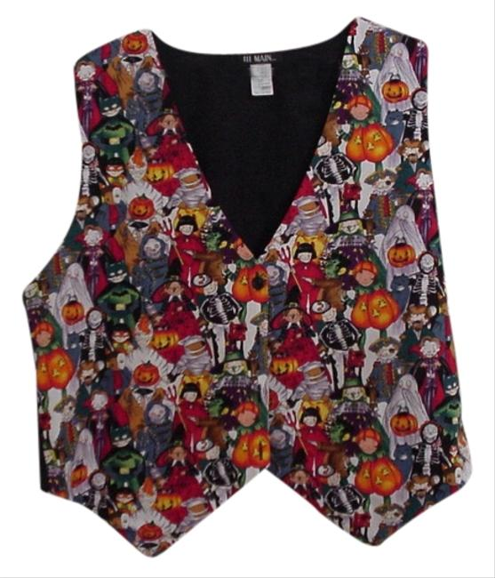 Preload https://img-static.tradesy.com/item/1949665/multicolor-happy-halloween-kids-in-costumes-ready-for-trick-or-treating-woman-vest-size-22-plus-2x-0-0-650-650.jpg
