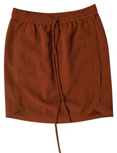J.Crew Work Wear Crepe Mini Skirt Red