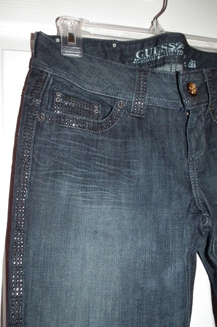 Guess Boot Cut Jeans-Dark Rinse