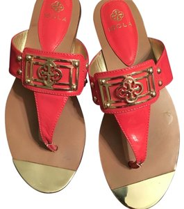 Isola Coral Pink Sandals