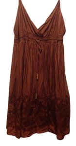 Banana Republic short dress Rust on Tradesy