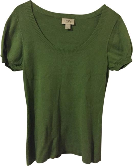 Preload https://item4.tradesy.com/images/ann-taylor-loft-light-green-blouse-size-4-s-1949753-0-0.jpg?width=400&height=650