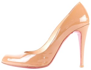 Christian Louboutin Red Sole Loubs Nude Pumps