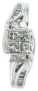 Other Princess Cut Ladies Diamonds White Gold Ring