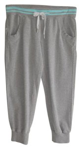 Lululemon crop lounge pants drawstring gray