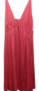 The Limited short dress Salmon Brand New Sleeveless Empire Waist Pleats on Tradesy