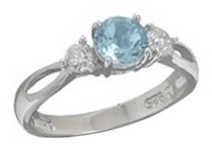 unknown BLUE TOPAZ RING