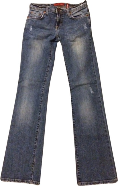 Colin's Jeans Straight Leg Jeans-Distressed