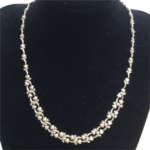 Other 14K White Gold Hearts Necklace