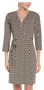 Laundry by Shelli Segal Wrap Tie Waist Dress