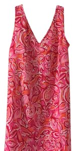 Lilly Pulitzer short dress Pink and red on Tradesy