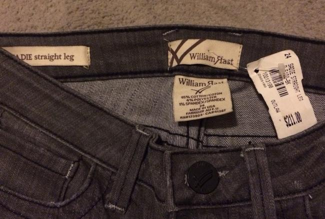 William Rast Straight Leg Jeans-Distressed