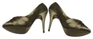 Steve Madden Silver gray Pumps