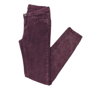 BDG Corduroy Fall Skinny Winter Skinny Pants PURPLE